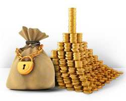 положить деньги на банковский вклад